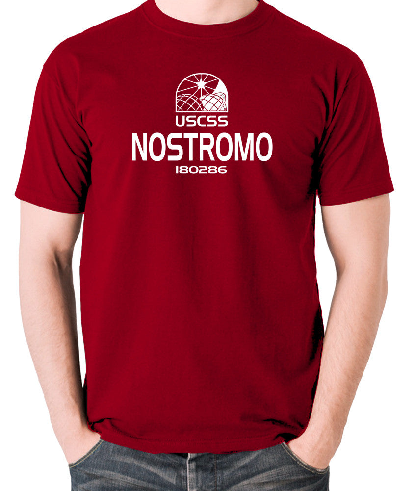 Alien - USCSS Nostromo - Men's T Shirt - brick red