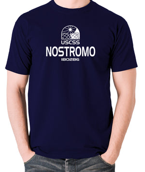 Alien - USCSS Nostromo - Men's T Shirt - navy