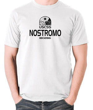 Alien - USCSS Nostromo - Men's T Shirt - white