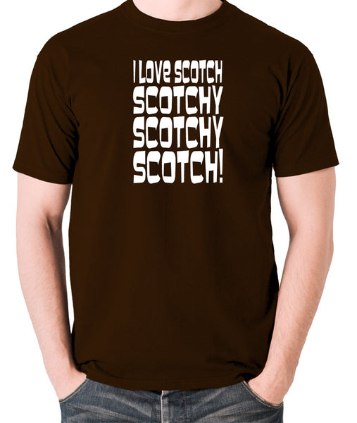 Anchorman - Scotchy, Scotchy, Scotch - Men's T Shirt - chocolate