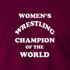 3e996f77bb97 Andy Kaufman Women's Wrestling Champion Of The World T Shirt