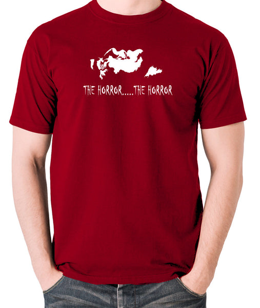 Apocalypse Now - The Horror - Men's T Shirt - brick red