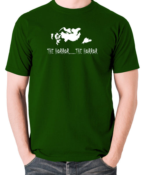 Apocalypse Now - The Horror - Men's T Shirt - green