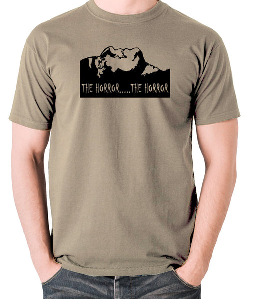 Apocalypse Now - The Horror - Men's T Shirt - khaki