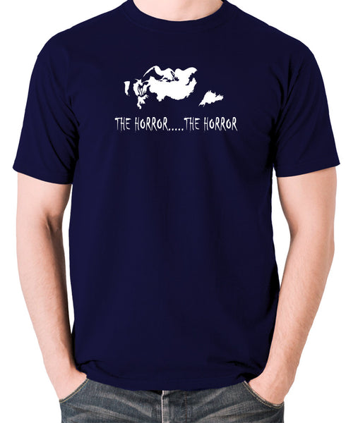 Apocalypse Now - The Horror - Men's T Shirt - navy