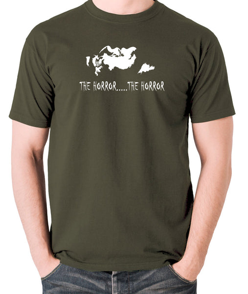 Apocalypse Now - The Horror - Men's T Shirt - olive