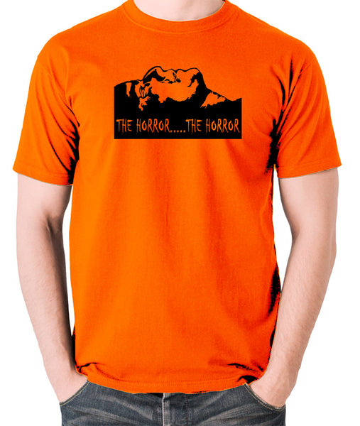 Apocalypse Now - The Horror - Men's T Shirt - orange