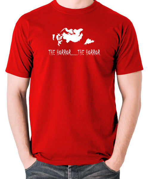 Apocalypse Now - The Horror - Men's T Shirt - red