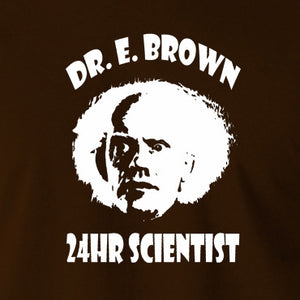 Back To The Future - Doc Brown 24hr Scientist - Men's T Shirt