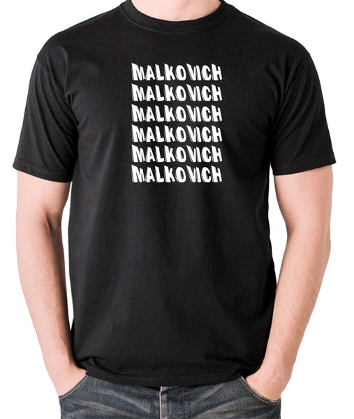 Being John Malkovich - Malkovich - Men's T Shirt - black