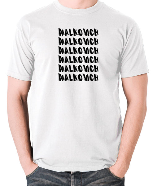 Being John Malkovich - Malkovich - Men's T Shirt - white