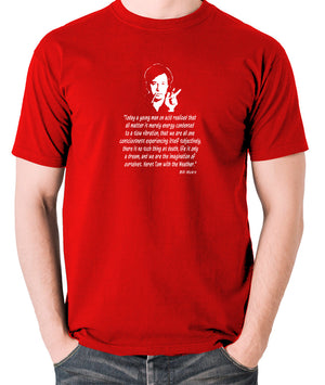 Bill Hicks Today A Young Man On Acid T Shirt red