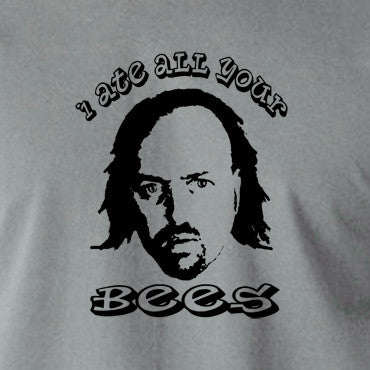 Black Books I Ate All Your Bees T Shirt