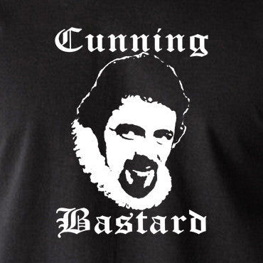 Blackadder - Rowan Atkinson - Cunning Bastard - Men's T Shirt