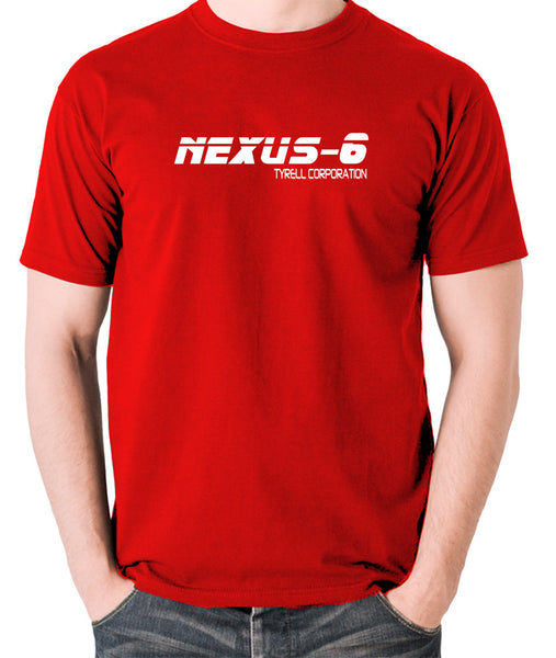 Blade Runner - Nexus-6 Tyrell Corporation - Men's T Shirt - red