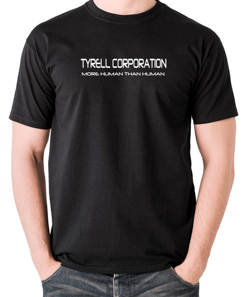 Blade Runner - Tyrell Corporation, More Human than Human - Men's T Shirt - black