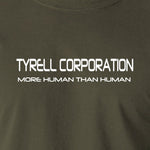 Blade Runner - Tyrell Corporation, More Human than Human - Men's T Shirt