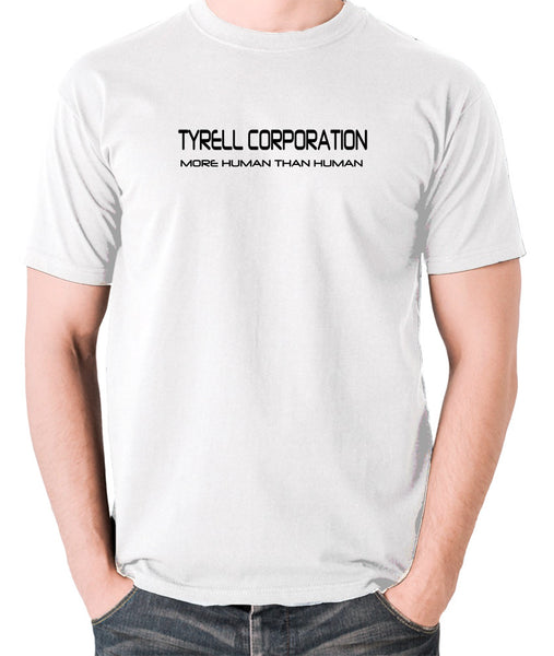 Blade Runner - Tyrell Corporation, More Human than Human - Men's T Shirt - white