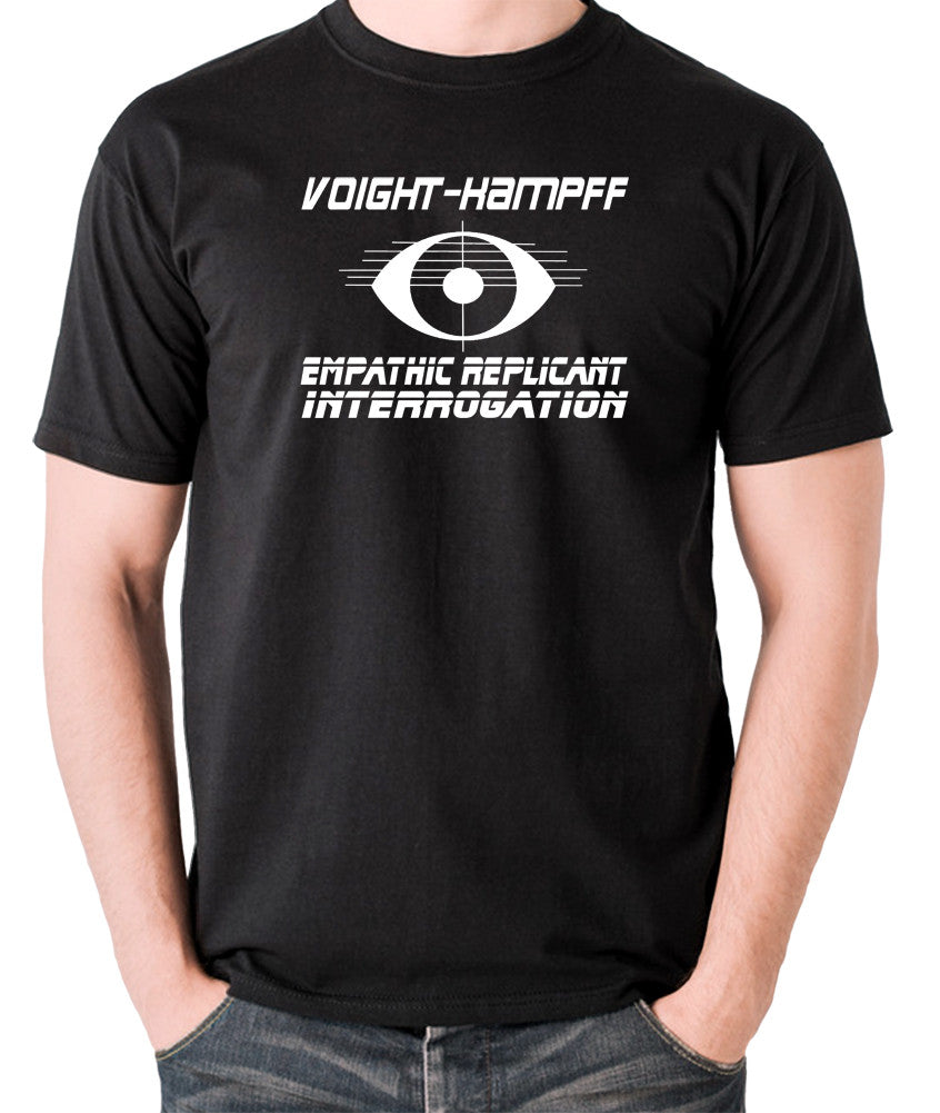 Blade Runner - Voight Kampff, Empathic Replicant Interrogation - Men's T Shirt - black