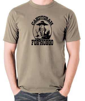 Blazing Saddles - Candygram for Mongo - Men's T Shirt - khaki