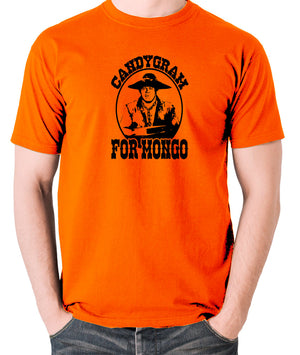 Blazing Saddles - Candygram for Mongo - Men's T Shirt - orange