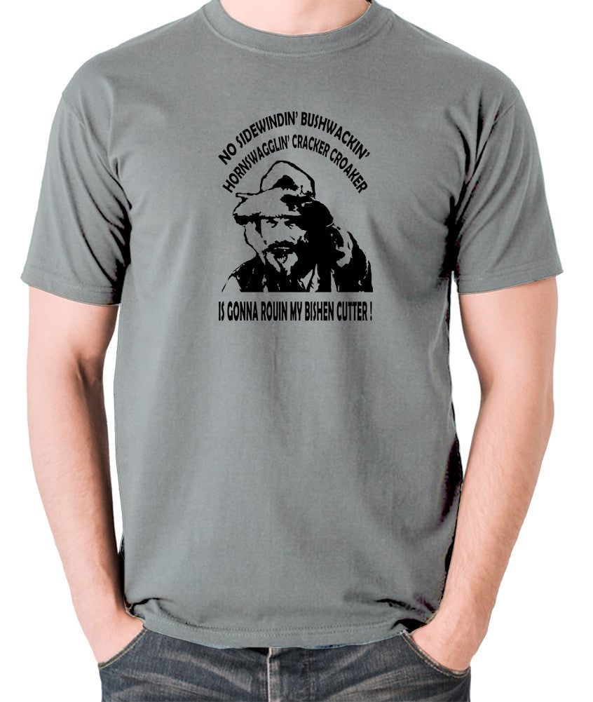 Blazing Saddles - Gabby Johnson, Bishen Cutter - Men's T Shirt - grey