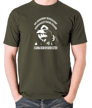 Blazing Saddles - Gabby Johnson, Bishen Cutter - Men's T Shirt - olive