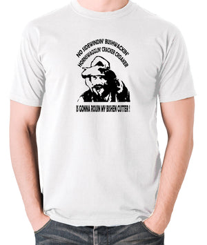 Blazing Saddles - Gabby Johnson, Bishen Cutter - Men's T Shirt - white