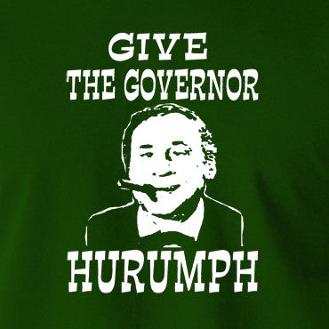 Blazing Saddles - Give The Governor Harrumph - Men's T Shirt