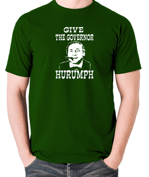 Blazing Saddles - Give The Governor Harrumph - Men's T Shirt - green