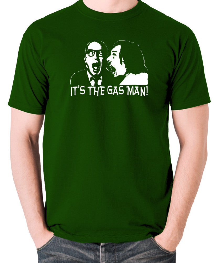 Bottom It's The Gas Man T Shirt green