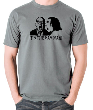 Bottom It's The Gas Man T Shirt grey