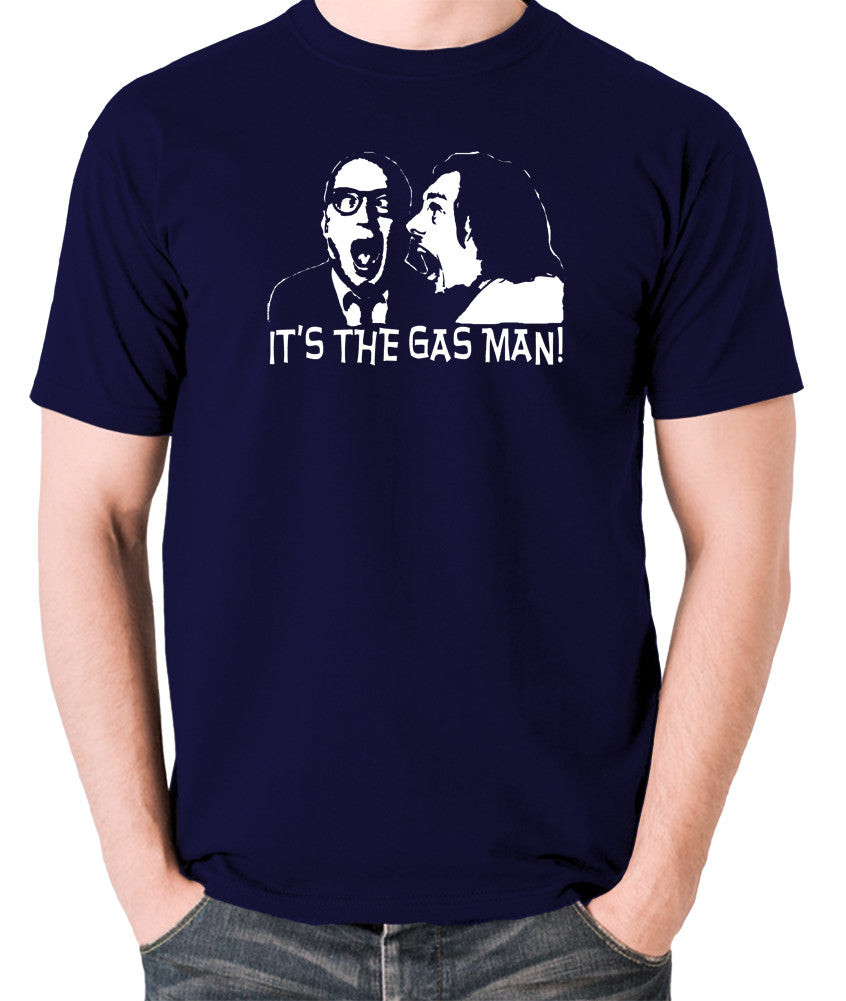Bottom It's The Gas Man T Shirt navy