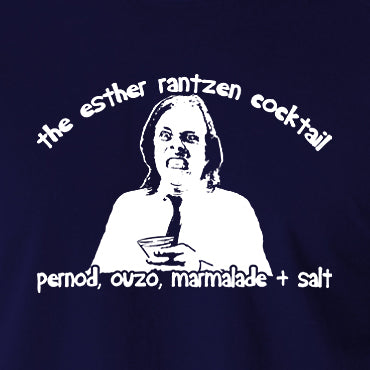 Bottom - Richie, The Esther Rantzen Cocktail, Pernod, Ouzo, Marmalade and Salt - Mens T Shirt
