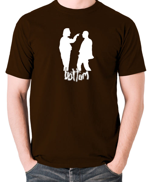 Bottom - Silhouette T Shirt chocolate