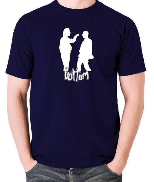Bottom - Silhouette T Shirt navy
