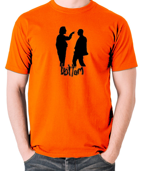 Bottom - Silhouette T Shirt orange
