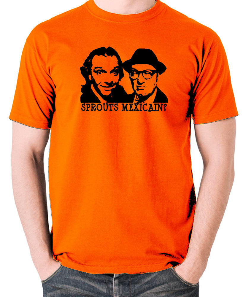 Bottom Sprouts Mexicain? T Shirt orange