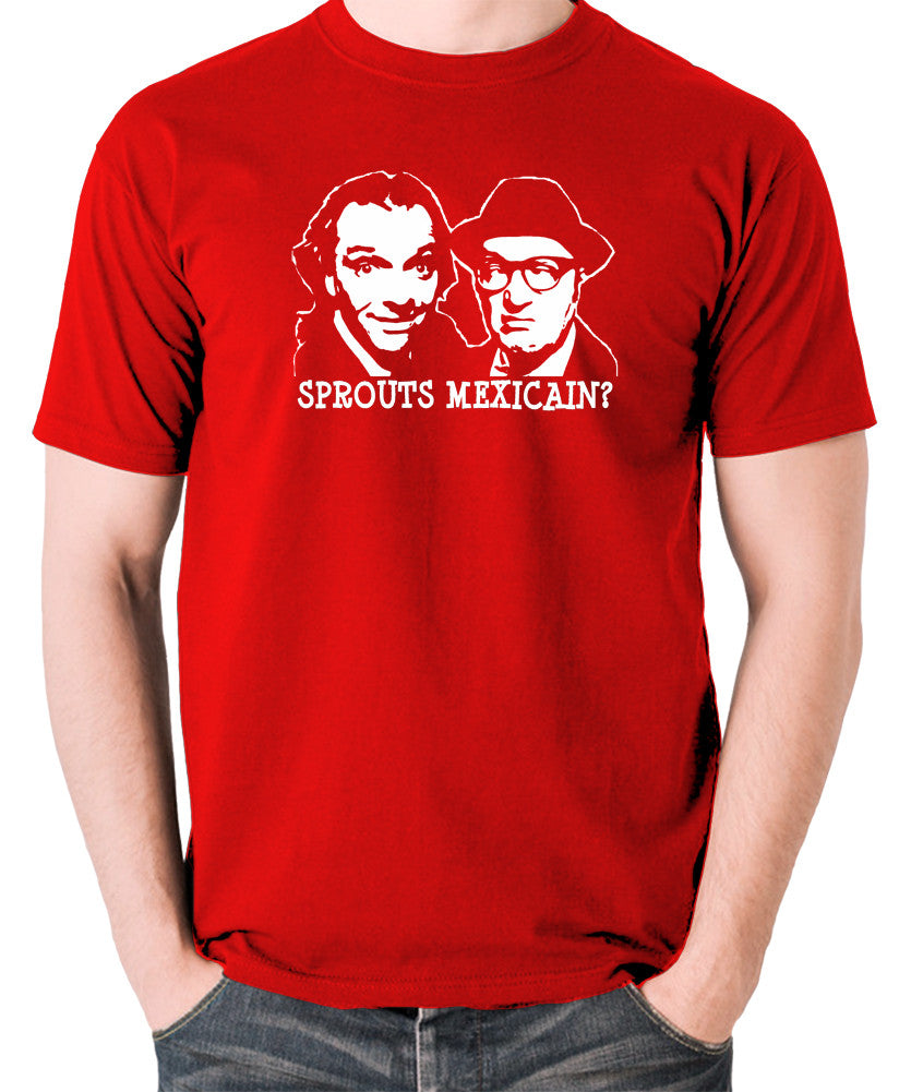 Bottom Sprouts Mexicain? T Shirt red