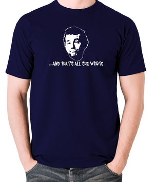 Caddyshack - Carl Spackler, And That's All She Wrote - Men's T Shirt - navy