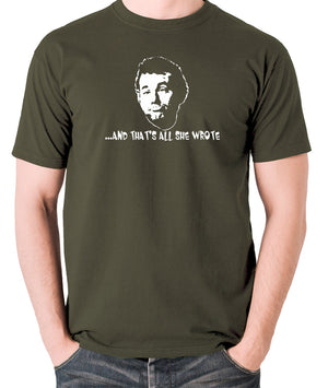 Caddyshack - Carl Spackler, And That's All She Wrote - Men's T Shirt - olive