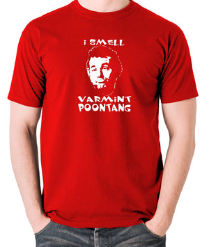 Caddyshack - Carl Spackler, I Smell Varmint Poontang - Men's T Shirt - red