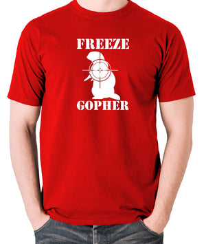Caddyshack - Freeze Gopher - Men's T Shirt - red