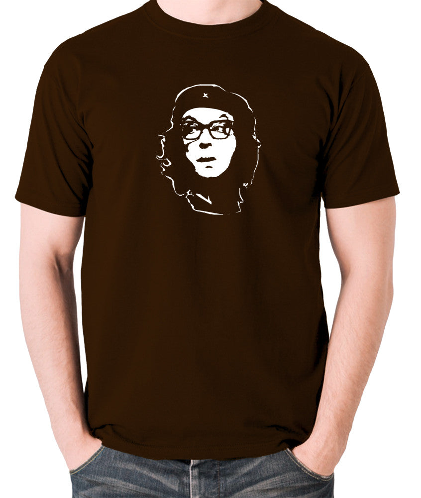 Che Guevara Style - Eric Morecambe - Men's T Shirt - chocolate