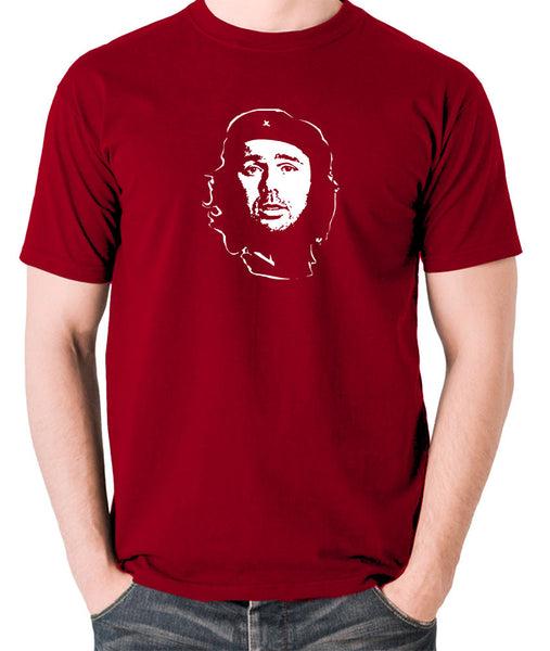 Che Guevara - Karl Pilkington - Men's T Shirt - brick red