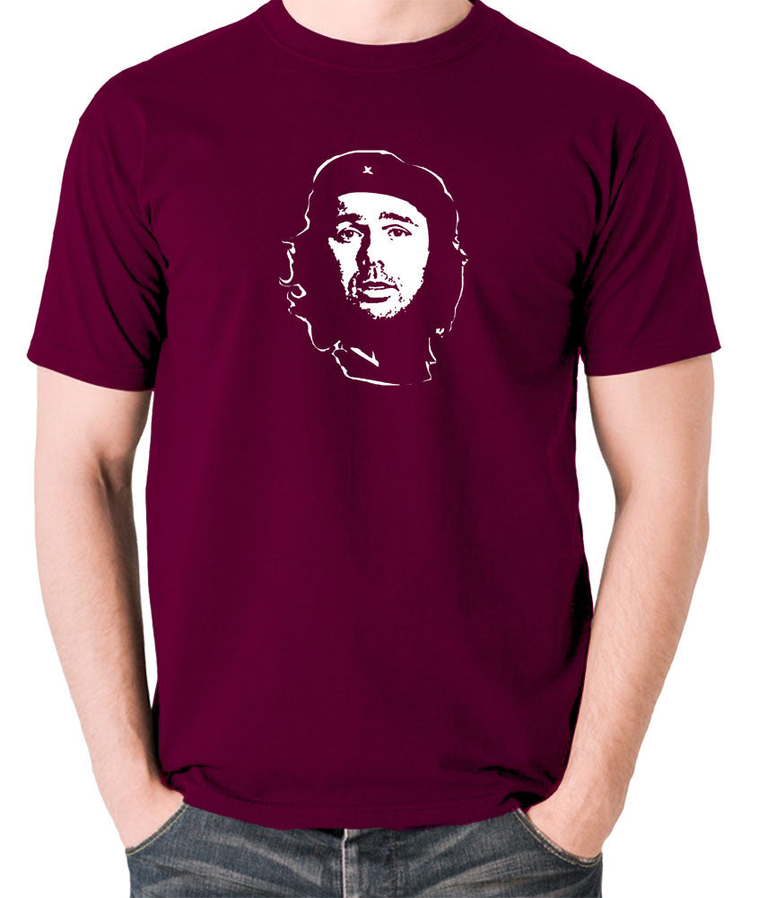 Che Guevara - Karl Pilkington - Men's T Shirt - burgundy