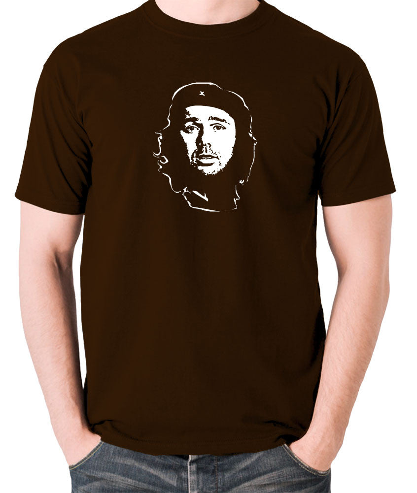Che Guevara - Karl Pilkington - Men's T Shirt - chocolate