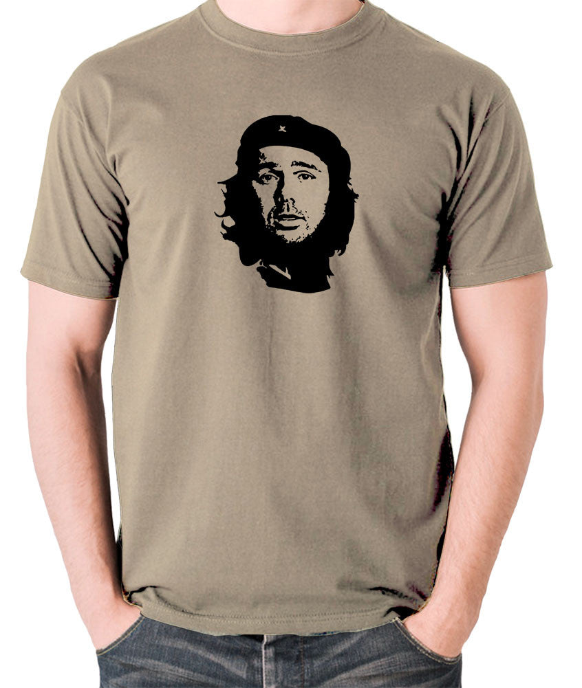 Che Guevara - Karl Pilkington - Men's T Shirt - khaki