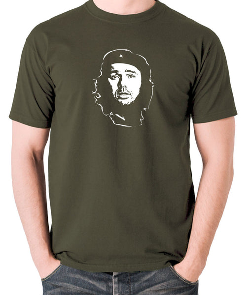 Che Guevara - Karl Pilkington - Men's T Shirt - olive