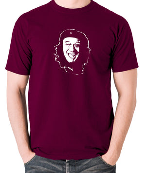 Che Guevara - Sid James - Men's T Shirt - burgundy